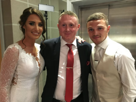Kieran-trippier-wedding-magician